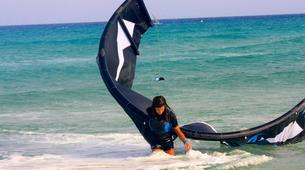 Kitesurfing-Corralejo, Fuerteventura-Private and semi private beginners kitesurfing course in Corralejo-6