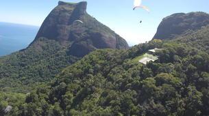 Paragliding-Rio de Janeiro-Tandem paragliding from Tijuca National Park, Rio de Janeiro-5