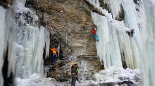 Ice Climbing-Großglockner-Beginner ice climbing course in Tauer near Lienz-1