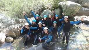 Canyoning-Cevennes National Park-Tapoul canyon in the Cevennes National Park-9