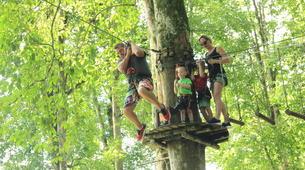 Zip-Lining-Kebun Raya Bali-Canopy tours in Kebun Raya Bali-6