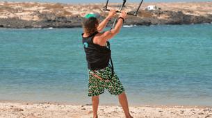Kitesurfing-Corralejo, Fuerteventura-Private and semi private beginners kitesurfing course in Corralejo-10