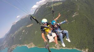 Paragliding-Annecy-Paragliding tandem flight above Annecy lake-4