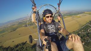 Paragliding-Sofia-Panoramic paratrike flight in Sofia-3