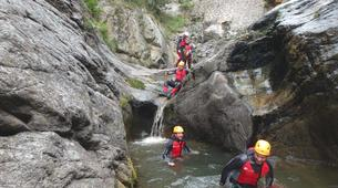 Canyoning-Núria-Canyoning at Lower Nuria Gorges near Nuria-5