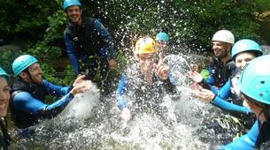 Canyoning-Cevennes National Park-Tapoul canyon in the Cevennes National Park-1