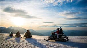 Snowmobiling-Les Carroz, Le Grand Massif-Snowmobile excursions in Les Carroz d'Arâches, Grand Massif-1