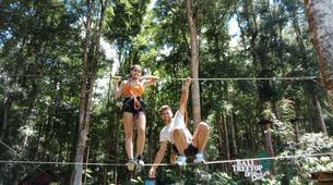Zip-Lining-Kebun Raya Bali-Canopy tours in Kebun Raya Bali-9