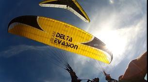Ala detla-Annecy-Hang gliding tandem flight above Annecy's Lake-3