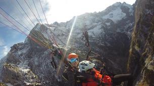 Gleitschirmfliegen-Garmisch-Partenkirchen-Tandem paragliding over Garmisch-Partenkirchen-6
