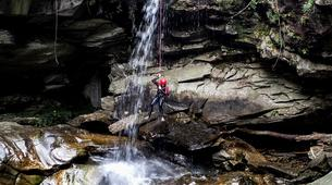 Canyoning-Ticino-Canyoning in Boggera canyon, Valle di Cresciano-3