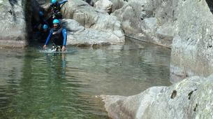 Canyoning-Cevennes National Park-Tapoul canyon in the Cevennes National Park-3