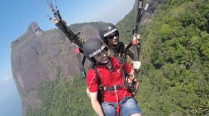 Paragliding-Rio de Janeiro-Tandem paragliding from Tijuca National Park, Rio de Janeiro-3