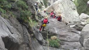 Canyoning-Núria-Canyoning at Lower Nuria Gorges near Nuria-1