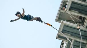 Bungee Jumping-Singapore-Bungy jumping (47m) in Sentosa-6