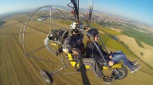 Paragliding-Sofia-Panoramic paratrike flight in Sofia-1