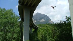 Bungee Jumping-Barcelona-Bridge Jumping in Saldes near Barcelona-1