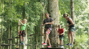 Zip-Lining-Kebun Raya Bali-Canopy tours in Kebun Raya Bali-8