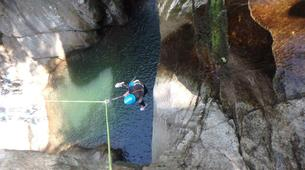 Canyoning-Cevennes National Park-Tapoul canyon in the Cevennes National Park-2