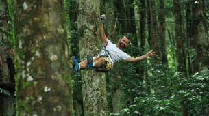 Zip-Lining-Kebun Raya Bali-Canopy tours in Kebun Raya Bali-2