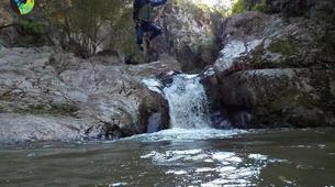 Canyoning-Girona-Canyoning at La Riera d'Osor Gorge near Girona-4