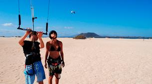 Kitesurfing-Corralejo, Fuerteventura-Private and semi private beginners kitesurfing course in Corralejo-7