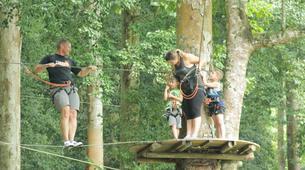 Zip-Lining-Kebun Raya Bali-Canopy tours in Kebun Raya Bali-3