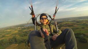 Paragliding-Sofia-Panoramic paratrike flight in Sofia-7