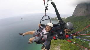 Paragliding-Rio de Janeiro-Tandem paragliding from Tijuca National Park, Rio de Janeiro-1