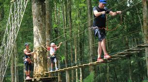 Tyrolienne-Kebun Raya Bali-Canopy tours in Kebun Raya Bali-4