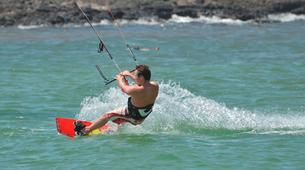 Kitesurfing-Corralejo, Fuerteventura-Private and semi private beginners kitesurfing course in Corralejo-2