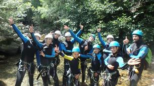 Canyoning-Cevennes National Park-Tapoul canyon in the Cevennes National Park-10