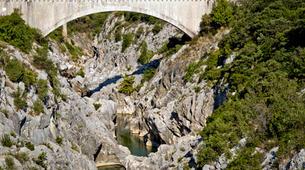 Canyoning-Montpellier-Canyon du Diable près de Montpellier-9