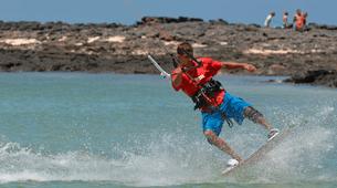 Kitesurfing-Corralejo, Fuerteventura-Private and semi private beginners kitesurfing course in Corralejo-8