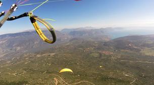 Paragliding-Delphi-Tandem paragliding flight in Delphi, Greece-5