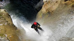 Canyoning-Megève, Evasion Mont Blanc-Canyon de La Belle au Bois à Megève-3