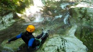 Canyoning-Annecy-Canyoning at Montmin Gorge near Annecy-2