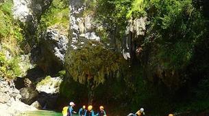 Canyoning-Escuain-Lower Mirabal canyon in Escuain near Huesca-3