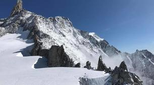 Mountaineering-Chamonix Mont-Blanc-Mountaineering day trip on the Cosmiques Ridge, Chamonix-4