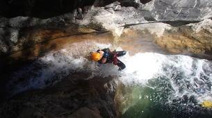 Canyoning-Nice-Canyon de Cramassouri près de Nice-1