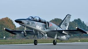 Aerobatics-La Roche-sur-Yon-Jet fighter flight in La Roche-sur-Yon, Vendee-4