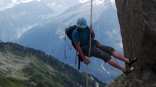 Rock climbing-Chamonix Mont-Blanc-Discover multi-pitch climbing in Monte Coudrey, Aosta Valley-3