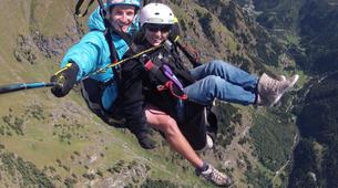 Paragliding-Verbier-Tandem paragliding over Verbier-6