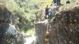 Canyoning-Arouca-Mizarela Waterfall Canyon near Arouca-1