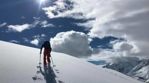 Ski touring-Chamonix Mont-Blanc-Ski touring day trip in the Col d'Entrèves, Chamonix-1