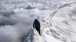 Mountaineering-Chamonix Mont-Blanc-Mountaineering day trip on the Cosmiques Ridge, Chamonix-5