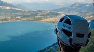 Via Ferrata-Lake Bourget, Aix les Bains-Via Ferrata Roc du Cornillon near Lac du Bourget-5