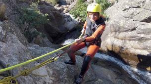 Canyoning-Cañamares-Hoz Somera canyon in Cañamares near Cuenca-4