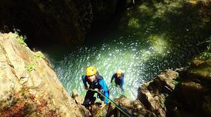 Canyoning-Barbaruens-Barbaruens canyon in Barbaruens, Huesca-2