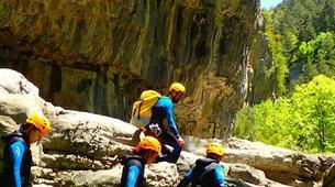 Canyoning-Buerba-Viandico canyon in Nerin near Buerba, Huesca-1